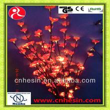 96 de la flor luces Branch / rama ramitas luces de la batería rojo operado
