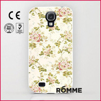 Alibaba Trusted Manufacturer supply printed hard flower case for samsung galaxy s4 wholesale