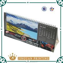Professional desk calendar/cardboard calendar printing in China