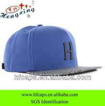 wholesale men fashion blank custom 5 panel snapback cap and hat
