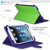 magnetic closure stand function tablet universal lether case