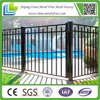 galvanizing and powder coating wrought iron traffic guardrail