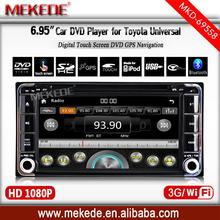 6.95inch Toyota Univesal Car DVD Player for Toyota RAV4 TOYOTA FJ CRUISER/TOYOTA ALPHARD PREVIA GL/ HIACE IELAS TOYOTA FORTUNER