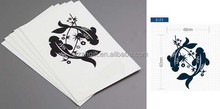 50 Sheets Fashion Stencils for Body Art Painting Mixed Design Tattoo Sticker Kit