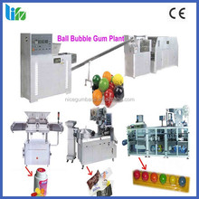 Chinese factory bubble gum ball production line