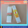 factory price paraffin wax white candle Mabel Zhang :+86-15203313868