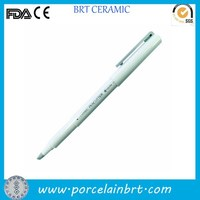 Wholesale white cheap custom writable Ceramic Pen Cutter
