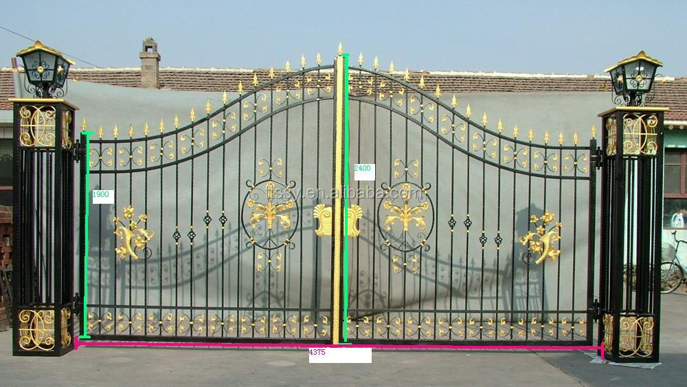 China Made Sliding Iron Main Gate Design Buy Main Iron Gate Main Iron Gate Iron Gates Product
