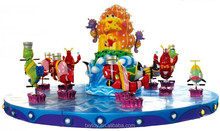 Indoor equipment carrousel ,happy ocean carrousel for kids and adult, house carrousel for sale