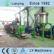 Manufacturer Directly Supply plastic HDPE milk bottle recycling machinery
