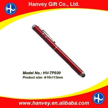 Lastest fancy gift metal touch pen for mobile phone and business people