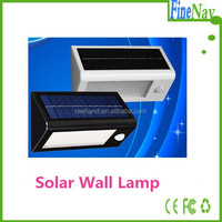 Super Bright PIR motion sensor IP65 solar led wall lights for garden