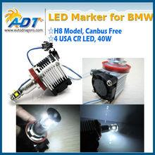 Promotion E92 40W LED angel eyes H8 LED Marker for BMW