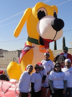 Attractive!!! 13ft/400cm/4m high custom inflatabe dog advertising inflatable animal W505