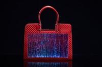 wholesale LED luminous handbag purses and handbags ladies