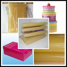 Animal pegamento de la jalea para encuadernación / pegamento caliente del derretimiento gelatina