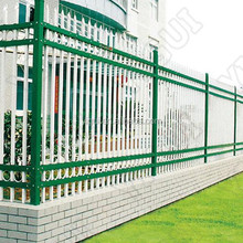 for outdoor Decorative Black Cheap steel fence, factory direct production sale fence