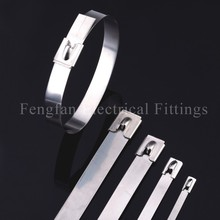 Stainless Steel Cable Ties-Ball Lock Uncoated Ties