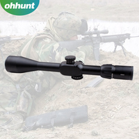 Black 4-16X50 Tactical optical sight red /green illuminated Hunting scope for rifle