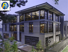 Duplex container house villa resort container house kits