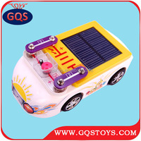 Eight in one mini electric solar car