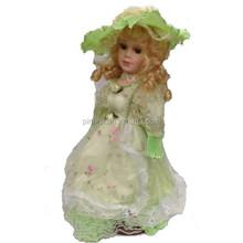 """16 """" país menina de alta qualidade bonita venda quente bonecas de porcelana"""