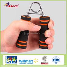 Ningbo Junye gym exercise equipmet sponge steel foam hand grip