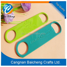 hot sale wholesale chinese made iron colorful metal beer bottle openers for wine company as the promotional gifts in embossed