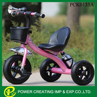 new product child tricycle seats Steel Kids Bike
