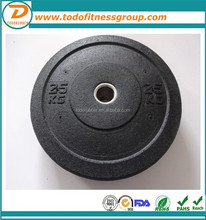Factory price training crumb rubber bumper plate