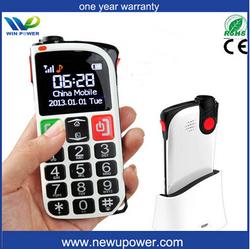Special design GSM quad Band Mobile with FM Radio and Flashlight Cheap Elderly Big Button senior easy phone dual sim