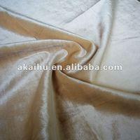 100% polyester Cheap Velvet Upholstery Fabric