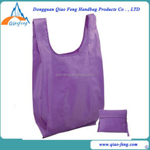 eco-friendly folding shopping bag 190T Polyester shopping bags