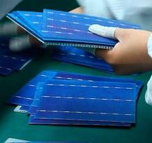 "solar cell 156*156 poly 6"" high efficiency A grade"