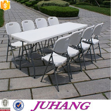 used modern hotel furniture folding table and chair