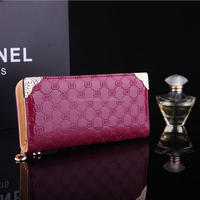 2015 new design women wallets, fashion korea style leather wallet for women