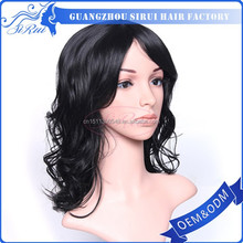 Top selling long natural curl heat resistant wigs manufacture in china, synthetic short wigs manufactures on sale, tnew product