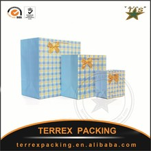 High quality Branded Retail white paper bag for shopping and gift