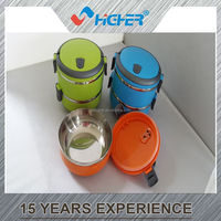 colorful Stainless Steel Lunch Box/food container to keep food warm /fresh