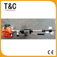 52cc mini portable gasoline oil 2.5 HP small 2 stroke outboard boat motor