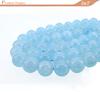 10mm rough gemstone AAA Grade Round auamarine natural semi precious gemstone stone beads