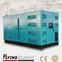 super sound proof generator 750kva shopping mall silent generator 600kw