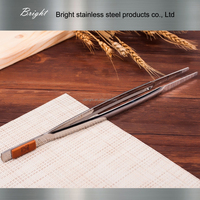 newly designed stainless steel food tong for kitchen