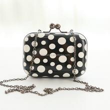 New Fashion Polka Dot Women Clutch Bag Ball Day Clutches Bags