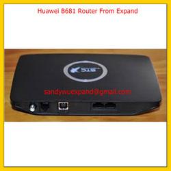 Router 3G modem sim 4G HUAWEI B681 Hsdpa Umts 28 Mbps WiFi Lan Wan RJ11
