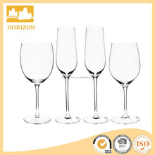 Crystal Mouth Blown Champagne galss & Red Wine Glass
