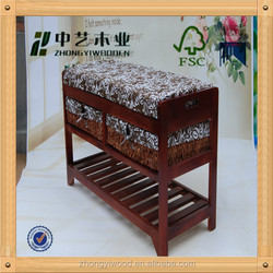 trade assurance out door eco-friendly custome wooden handmade wicker storage cabinet closet