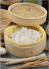 inch silicone Bamboo Steamer