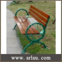 FW19 High Quality Cast Iron and Wooden Bench Slats Park Benches