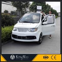 4 seats electric car 4 wheel drive